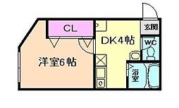 福島ビル[2階]の間取り