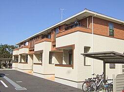 神奈川県川崎市高津区上作延の賃貸アパートの外観