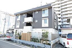 岡山県倉敷市老松町2丁目の賃貸アパートの外観