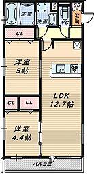 (仮称)D-room北三国ヶ丘8丁[3階]の間取り