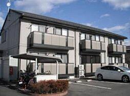 福島県郡山市字名倉の賃貸アパートの外観