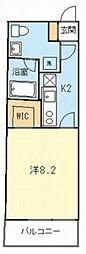 ラヴィータ梶ヶ谷[2階]の間取り