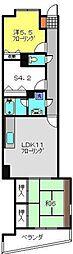KNCビル弐番館[3階]の間取り