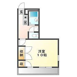 大崎壱番館[2階]の間取り