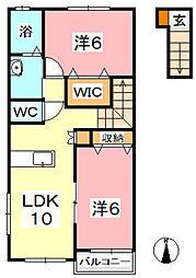 ノーブル[2階]の間取り
