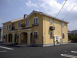 茨城県桜川市富士見台1丁目の賃貸アパートの外観