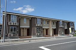 新潟県新発田市豊町3丁目の賃貸アパートの外観