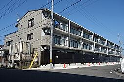 滋賀県近江八幡市出町の賃貸マンションの外観