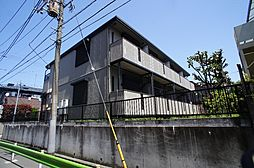 東京都大田区上池台1丁目の賃貸アパートの外観