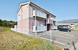 長野県塩尻市大字広丘吉田の賃貸アパートの外観
