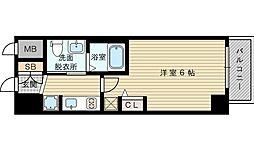 エステムコート新大阪XIリンクス[8階]の間取り