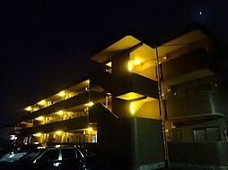 茨城県結城市新福寺5丁目の賃貸マンションの外観