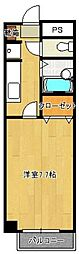 昭代タカモクビル[502号室]の間取り