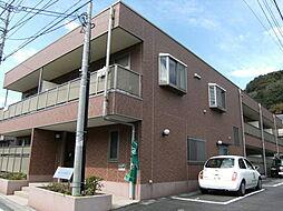 東京都八王子市裏高尾町の賃貸マンションの外観