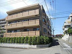 神奈川県川崎市麻生区五力田1丁目の賃貸マンションの外観