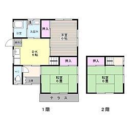[一戸建] 福岡県福岡市城南区片江4丁目 の賃貸【/】の間取り