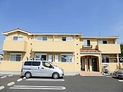 栃木県真岡市並木町3丁目の賃貸アパートの外観