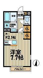 フィカーサ鎌倉[101号室]の間取り