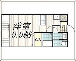 Village幕張本郷(ヴィレッジマクハリホンゴウ)[4階]の間取り