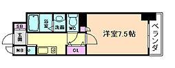 ラナップスクエア東梅田[10階]の間取り