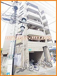 東京都国立市富士見台4の賃貸マンションの外観