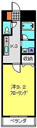 神奈川県横浜市南区別所1丁目の賃貸マンションの間取り