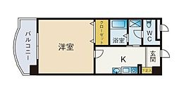 レークセンターガーデンU[505号室]の間取り