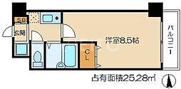 ハピネスoike[3階]の間取り