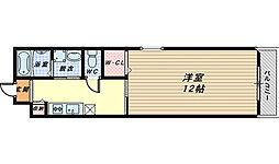 メゾンドホーク[3階]の間取り