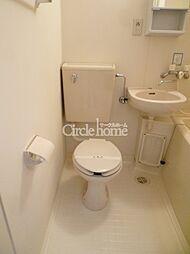 コスモハイム元住吉のトイレ