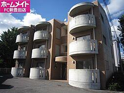 愛知県豊田市竹生町2丁目の賃貸マンションの外観