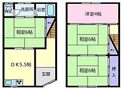 布忍駅 4.7万円