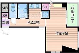 DEVELOP[5階]の間取り