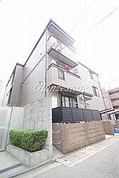 神奈川県川崎市中原区今井上町の賃貸アパートの外観