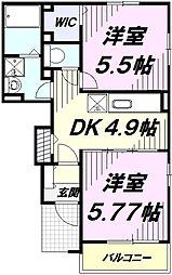 JR中央線 立川駅 バス30分 薬師前下車 徒歩3分の賃貸アパート