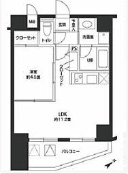 カスタリア北上野[5階]の間取り