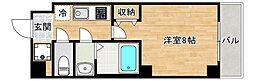 JR大阪環状線 桃谷駅 徒歩6分の賃貸マンション 7階1Kの間取り