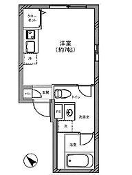 コーラルレジデンス東京[1階]の間取り