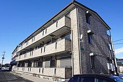 栃木県小山市大字大行寺の賃貸アパートの外観