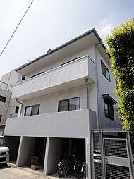 東京都世田谷区野沢2丁目の賃貸アパートの外観