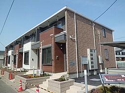 埼玉県川口市長蔵3丁目の賃貸アパートの外観
