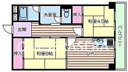 新船場太平ビル[5階]の間取り