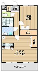 メゾン・ド・ローリエ[3階]の間取り