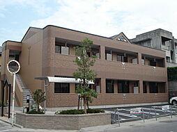 愛知県岡崎市稲熊町字3丁目の賃貸アパートの外観