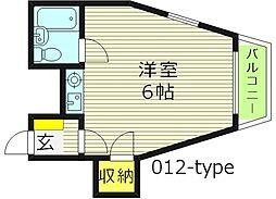 ロードピア[3階]の間取り