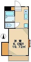 ヴェナビスタ[2階]の間取り