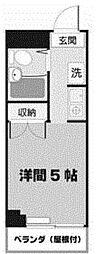 北浜ビル[3階]の間取り