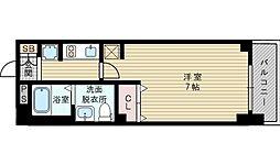 エステムコート新大阪Xザ・ゲート[8階]の間取り