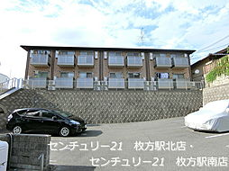 大阪府寝屋川市香里本通町の賃貸アパートの外観