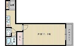 サンメゾン8[2階]の間取り